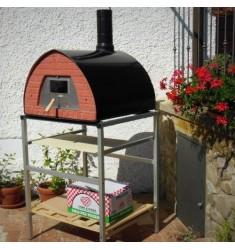 Pizzone il forno a legna di 4 pizze prodotto da pizza party for Forno per pizza portatile