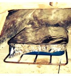 Griglia per migliorare le cotture in teglia nel forno a legna