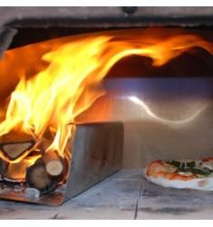 Piano cottura in biscotto saputo for Spartifiamma forno a legna