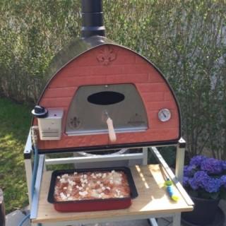outdoor gas pizza oven passione