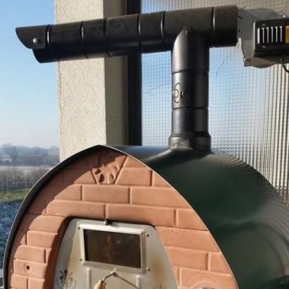 Antipipistrello 2.0 accessori per posizionare il forno in terrazza