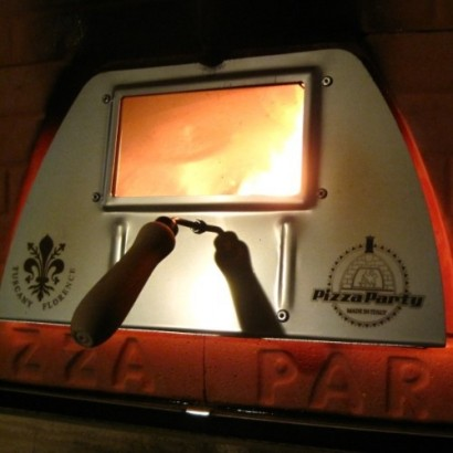 wood fired pizza oven accessories door with glass