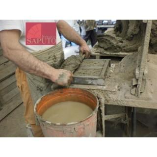 4 mattoni di biscotto Saputo per forni a legna