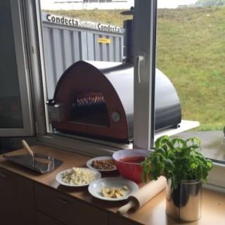 Bollore gas pizza oven
